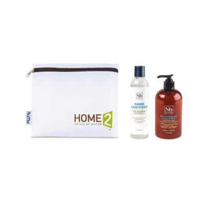 Soapbox® Hand Soap & Sanitizer Care Pack - Black-Sea Minerals & Blue Iris