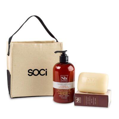 Soapbox™ Cleanse & Revive Gift Set - Natural-Citrus & Peach Rose