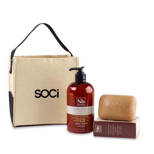 Soapbox™ Cleanse & Revive Gift Set - Natural-Coconut Milk & Sandalwood