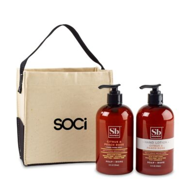 Soapbox™ Cleanse & Soothe Gift Set - Natural-Citrus & Peach Rose