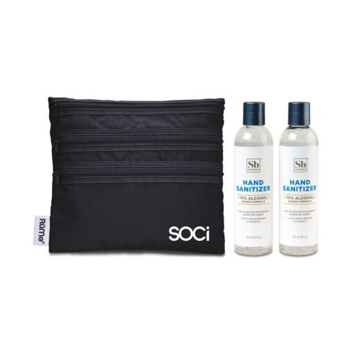 Soapbox™ Hand Sanitizer Duo Gift Set - Black