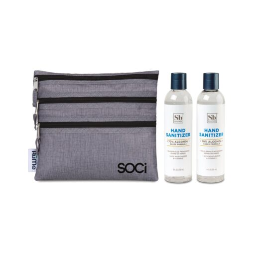 Soapbox™ Hand Sanitizer Duo Gift Set - Heather Grey
