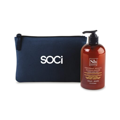 Soapbox™ Healthy Hands Gift Set - Navy Blue-Coconut Milk & Sandalwood