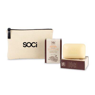 Soapbox™ Nourish & Restore Gift Set - Natural-Citrus & Peach Rose
