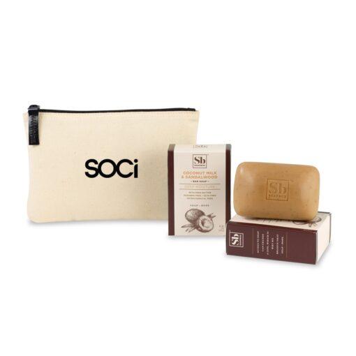 Soapbox™ Nourish & Restore Gift Set - Natural-Coconut Milk & Sandalwood