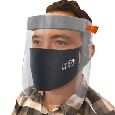 Face Shield + Mask Kit