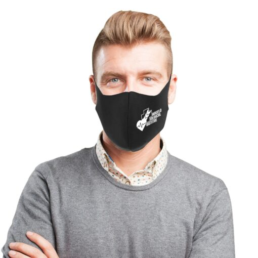 Fitted Stretch Face Mask