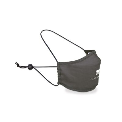 Reusable Over The Head Face Mask - Gunmetal Grey