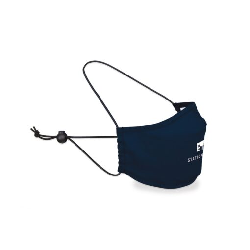 Reusable Over The Head Face Mask - Navy