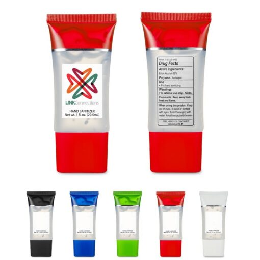 1 Oz. Hand Sanitizer Squeeze Tube