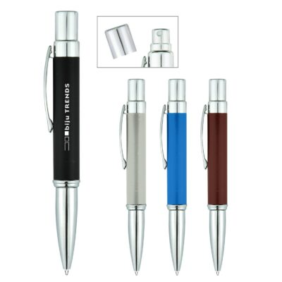 Aluminum Sanitizer Spray Bottle With Pen