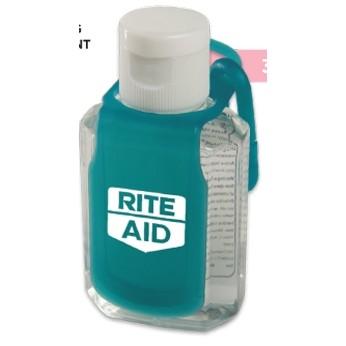 2 Oz. Protect™ Hand Sanitizer w/Caddy