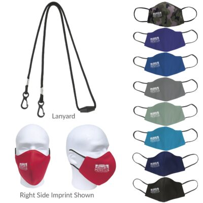 Good Value® Comfy Face Mask & Lanyard Kit
