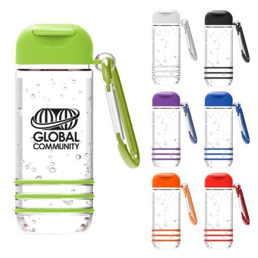 Color Burst 1 Oz. Hand Sanitizer With Carabiner
