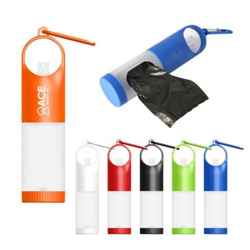 Doggone Clean Bag Dispenser With .5 Oz. Sanitizer Spray